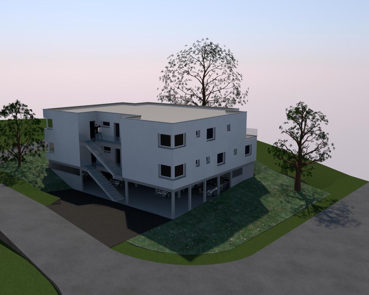 1 Immeuble à Botterens