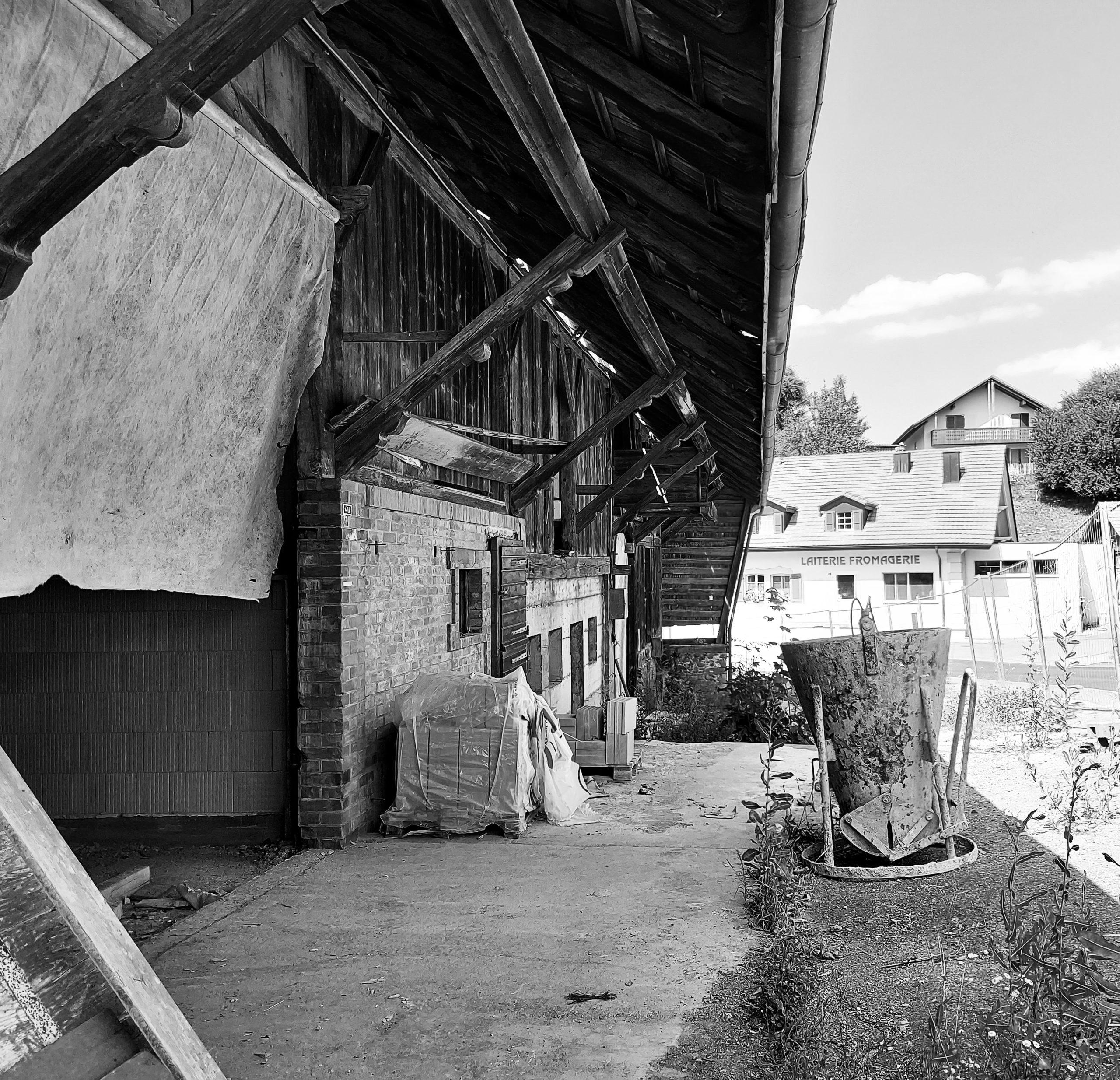 PPE de 5 lots dans ancienne ferme